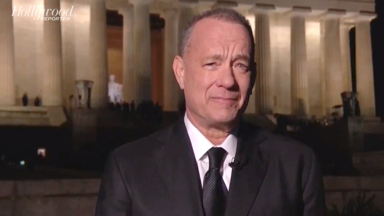 Tom Hanks Leads Procession of Stars, Former Presidents and Fireworks to Close Inauguration Day