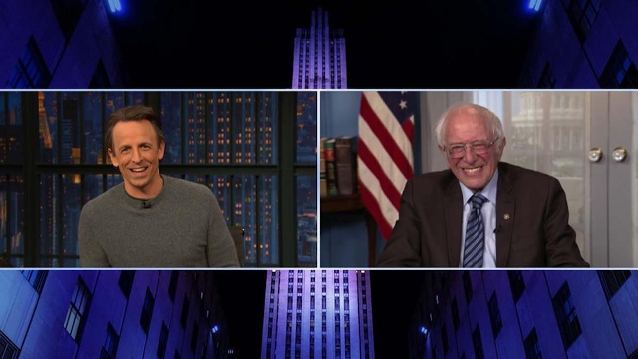 Bernie Sanders Reacts to Viral Inauguration Memes | THR News