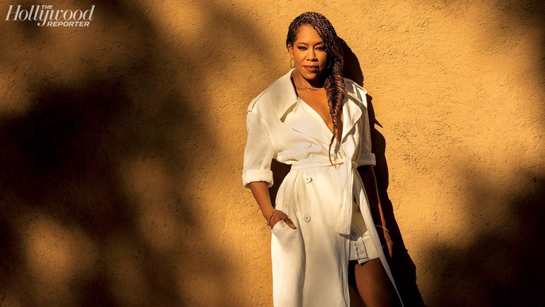 "<p>""Once the pandemic hit, I had a little pout session,"" says Regina King of viewers not being able to see her directorial debut in theaters as she'd intended. She was photographed Jan. 14 at The Paramour Estate in Silver Lake.</p>"