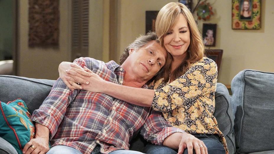 Allison Janney and William Fichtner on 'Mom.'