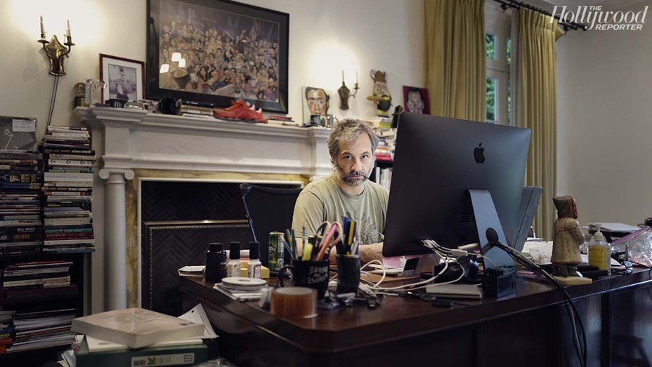 Judd Apatow was photographed by Maude Apatow Dec. 26 in Los Angeles