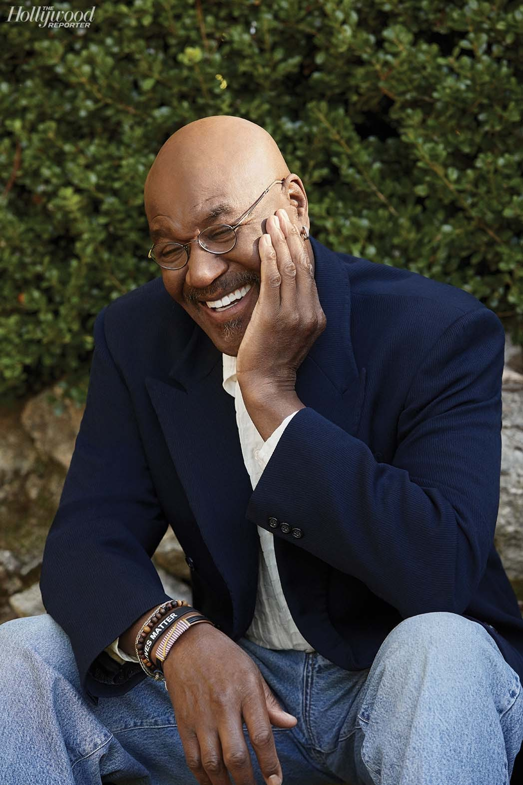 """Delroy Lindo measures the success of a project by """"a feeling. When I think about Da 5 Bloods, I felt good inside of the work. Had audiences not responded to it, that would not have impacted how I feel about making the work."""" Lindo was photographed by Katie Lovecraft on Jan.16 in Oakland, California."""