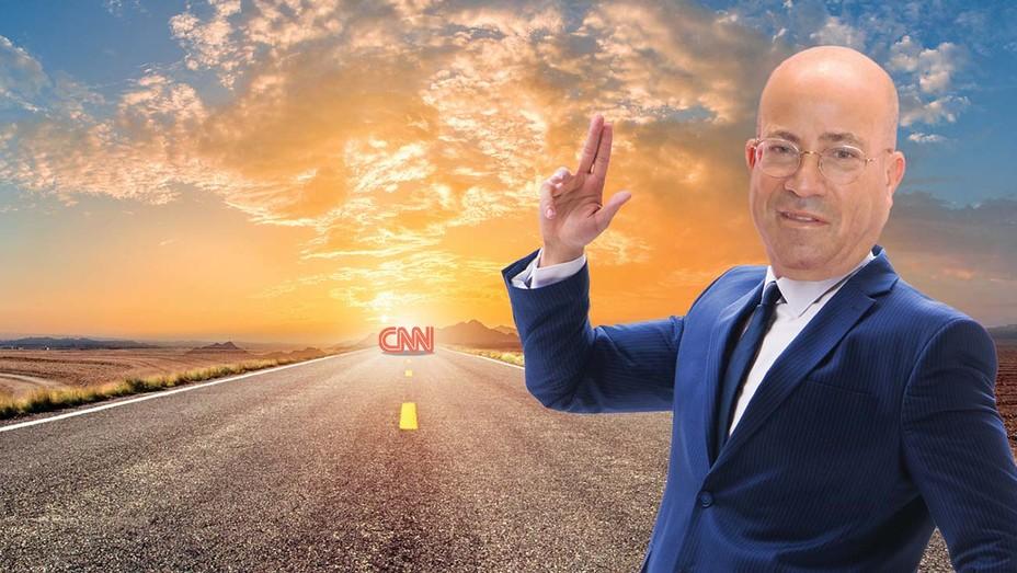A Crossroads for JeffZucker's CNN -Photo Illustration