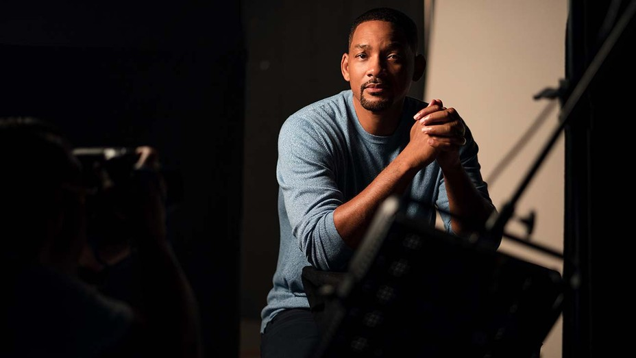 WILL SMITH on set on AMEND