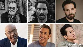 Actor Roundtable: Ben Affleck, Sacha Baron Cohen, Delroy Lindo, Gary Oldman, John David Washington and Steven Yeun on Their Liberating Roles