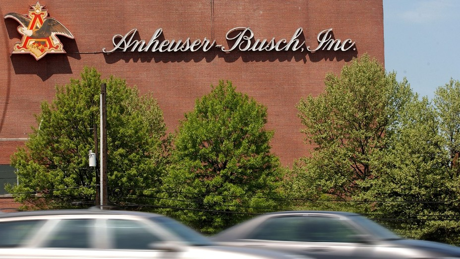The Anheuser-Busch factory in Elizabeth, New Jersey.