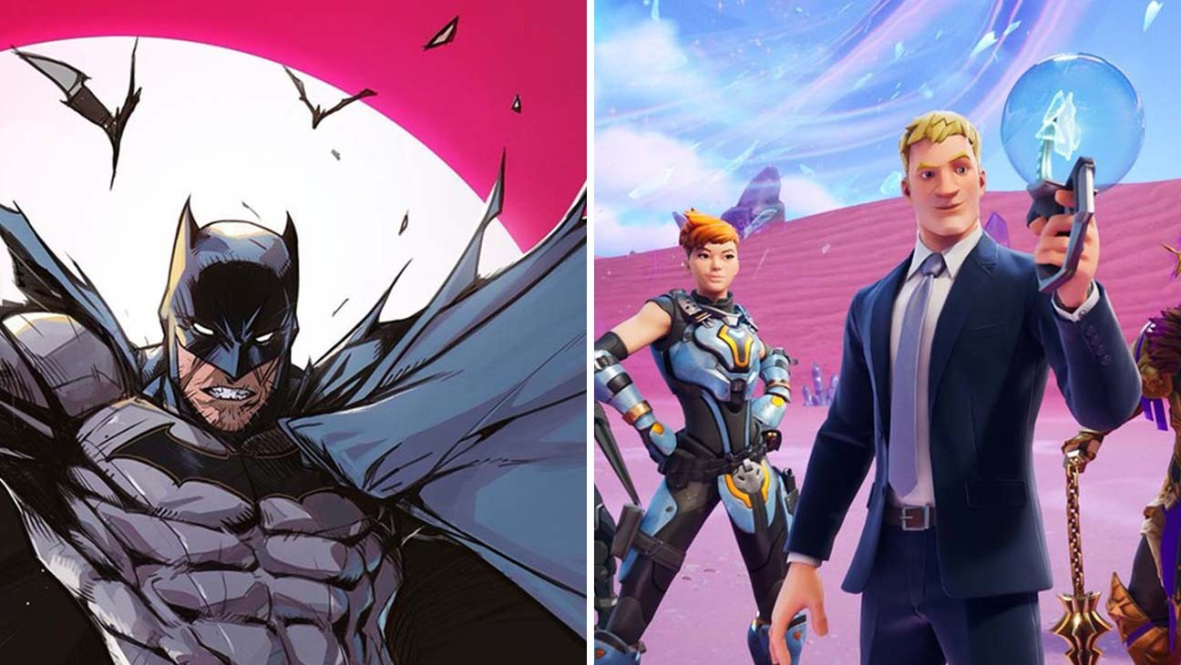 Batman Plunges Into 'Fortnite' in Comic Book Miniseries