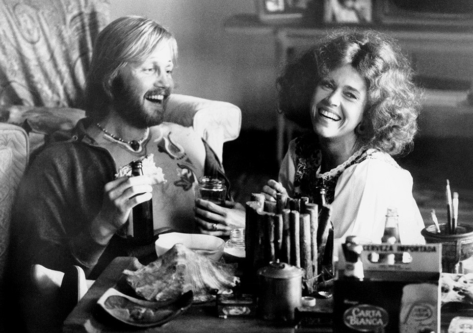 "Jon Voight und Jane Fonda in ""Coming Home"", 1978"