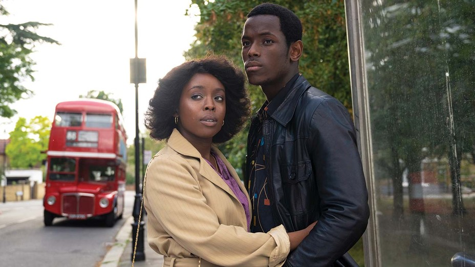 Amarah-Jae St. Aubyn and Michael Ward in the Small Axe film 'Lovers Rock.'