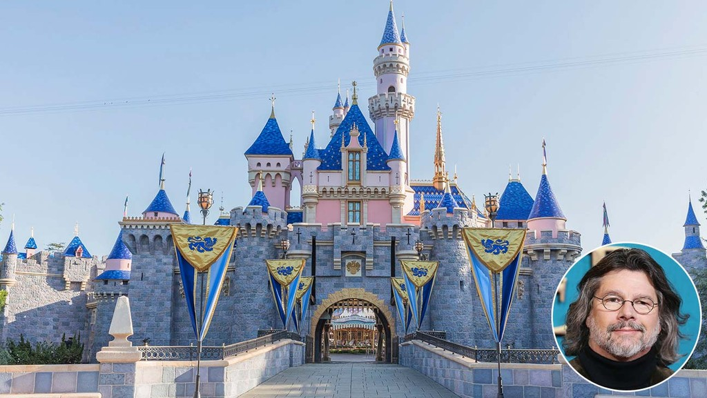 Disneyland-Castle-and-inset-of-Ronald-D.