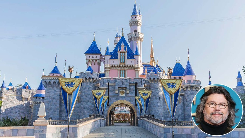 Disneyland-Castle-and-inset-of-Ronald-D.-Moore