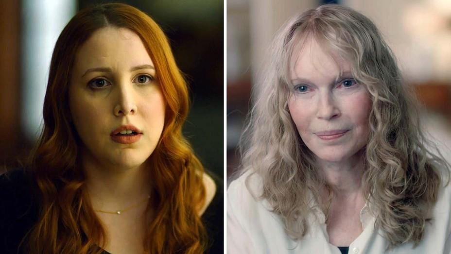 Dylan Farrow and Mia Farrow from HBO's Allen v. Farrow