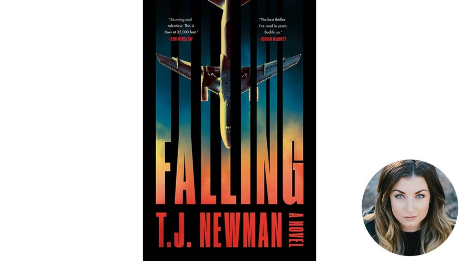 FALLING-Book-Cover-and-inset-of-Author-TJ-Newman