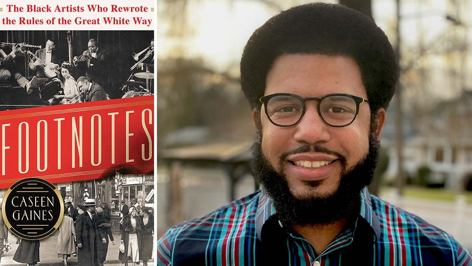 Footnotes Book Cover and Caseen Gaines