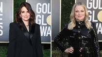 """Golden Globes Hosts Tina Fey, Amy Poehler Introduce """"78th Annual Hunger Games"""" in Monologue"""