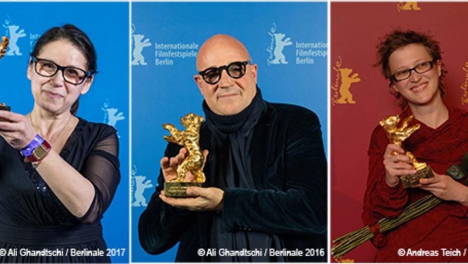 Directors Ildiko Enyedi, Gianfranco Rosi, Jasmila Zbanic