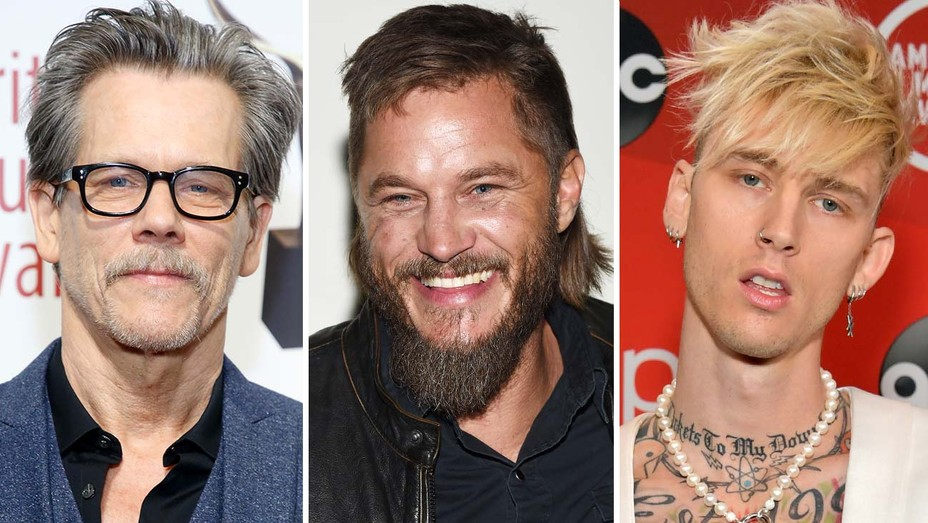 Kevin Bacon, Travis Fimmel and Colson Baker
