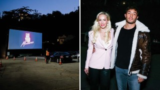 Louise Linton's Drive-In Movie Debut Leads to Drive-Outs