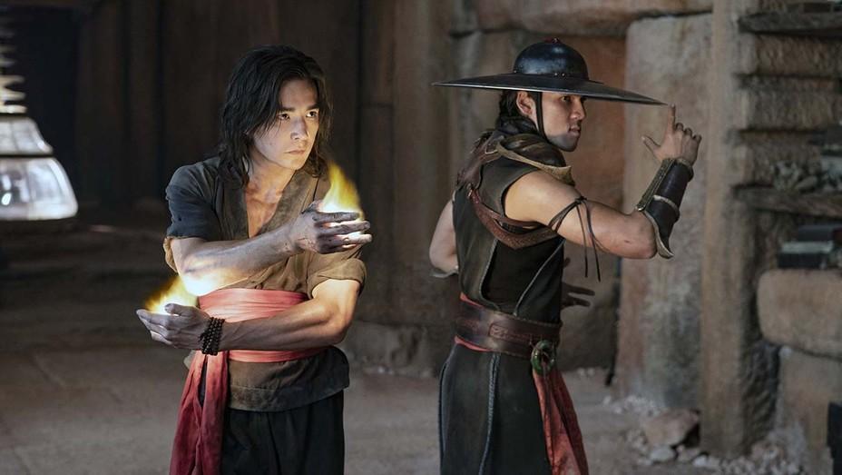 Ludi       Lin and Max Huang in 2021's 'Mortal Kombat.'