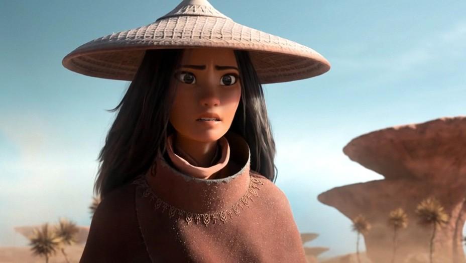 Raya (Kelly Marie Tran) in 'Raya and the Last Dragon' (2021).