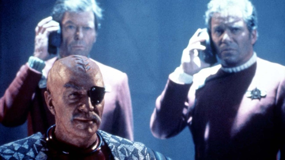 STAR TREK VI: THE UNDISCOVERED COUNTRY, Christopher Plummer, DeForest Kelley, William Shatner, 1991