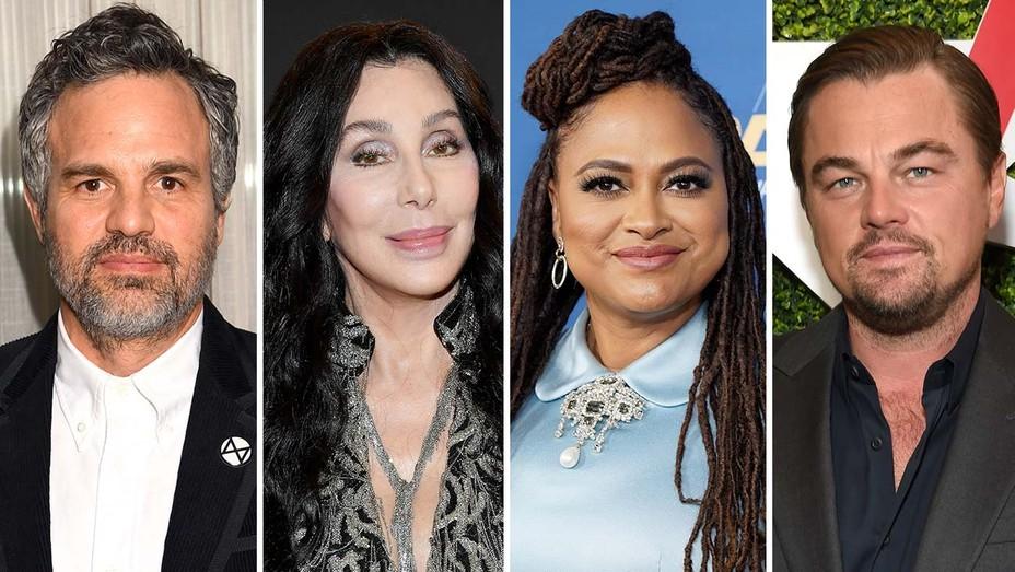 Mark Ruffalo, Cher, Ava DuVernay, and Leonardo DiCaprio
