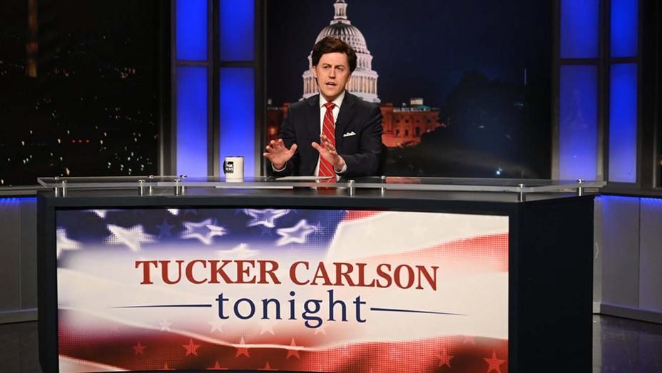 Saturday Night Live -Alex Moffat as Tucker Carlson