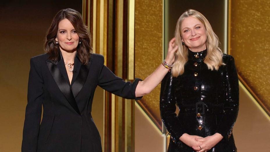 Golden Globe Awards Show - Tina Fey and Amy Poehler