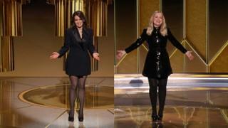 Golden Globes Hosts Tina Fey and Amy Poehler Mock HFPA Lack of Diversity