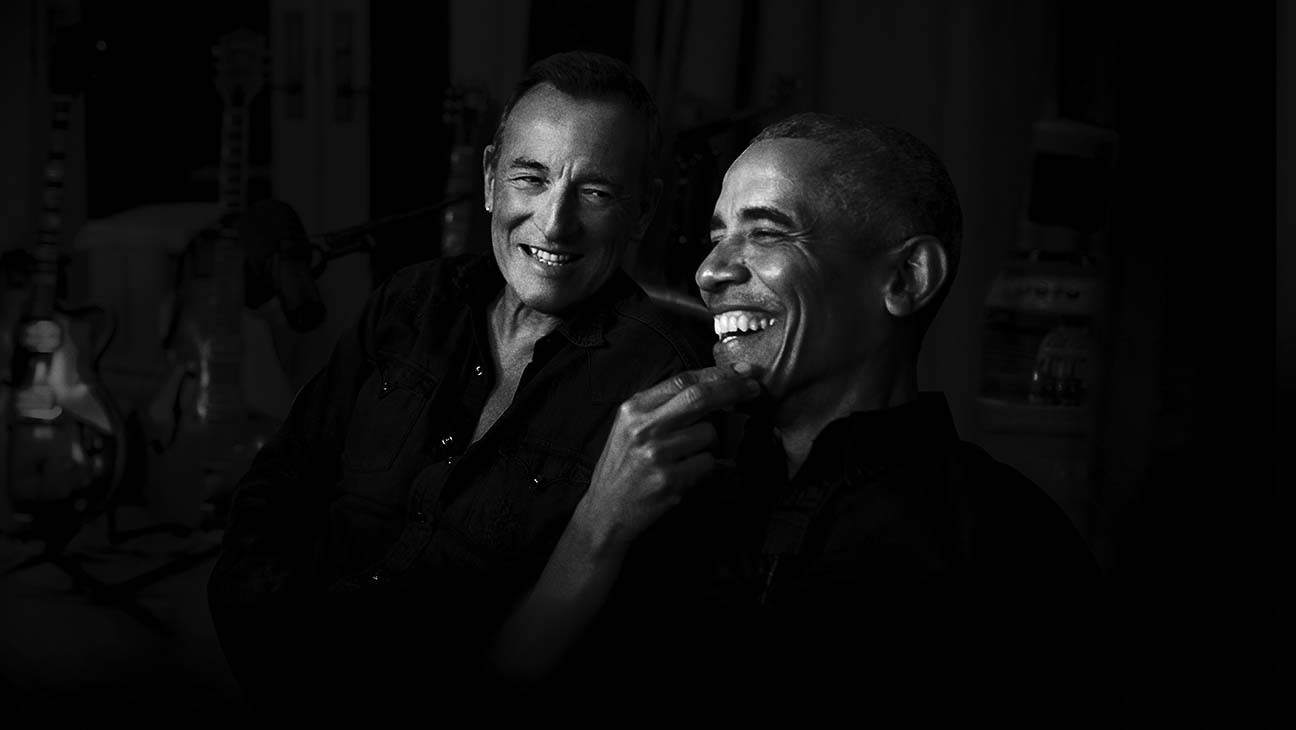 Barack Obama, Bruce Springsteen Launch Spotify Podcast