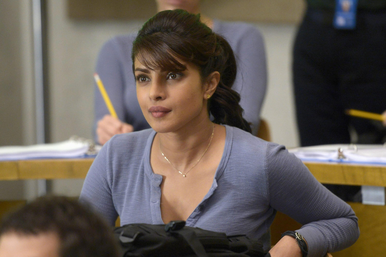 "Priyanka Chopra in ""Quantico""."