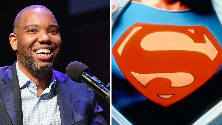 Ta-Nehisi Coates split with Superman logo -H 2021