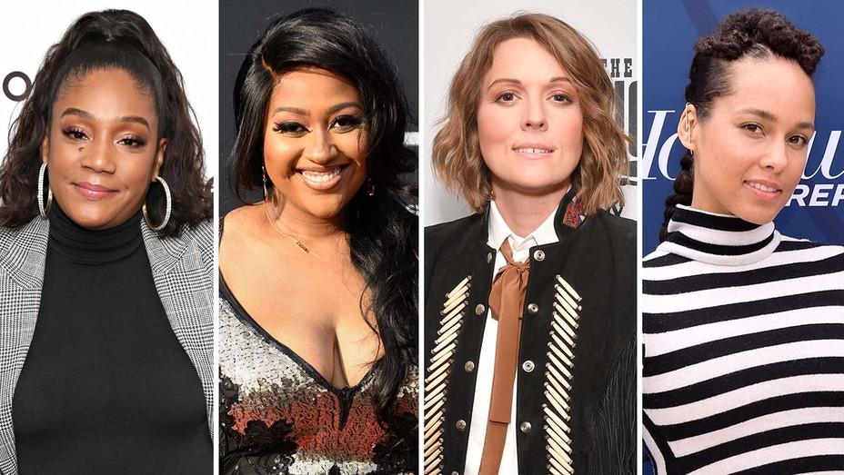 Tiffany Haddish, Jazmine Sullivan, Brandi Carlile Alicia Keys