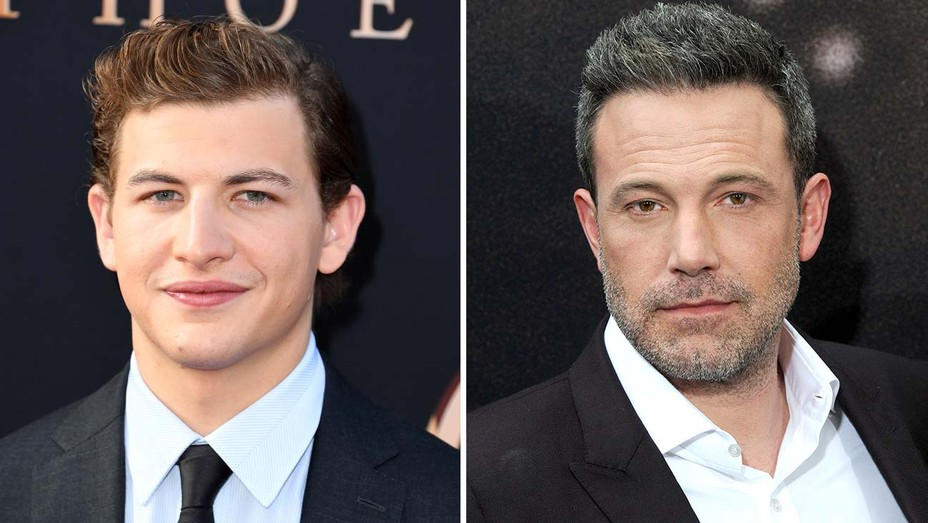 Tye Sheridan and Ben Affleck