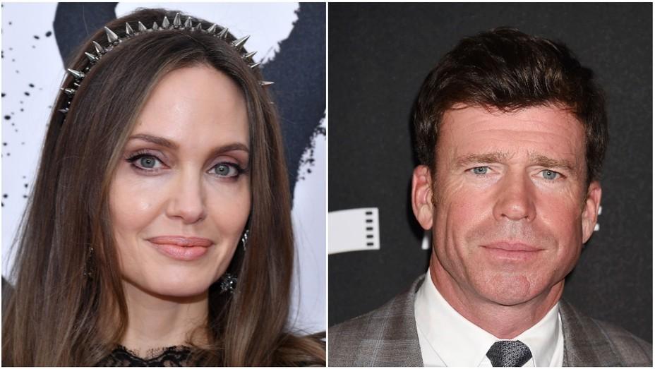Angelina Jolie and Taylor Sheridan