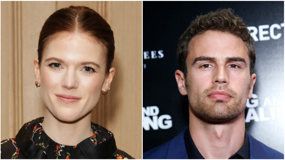 Rose Leslie and Theo James