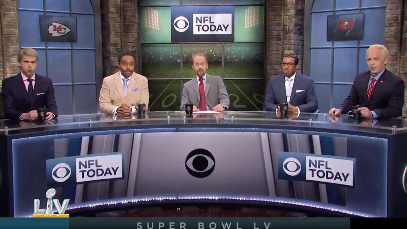 'SNL' Cold Open Mocks Super Bowl Ads Tackling Political Topics