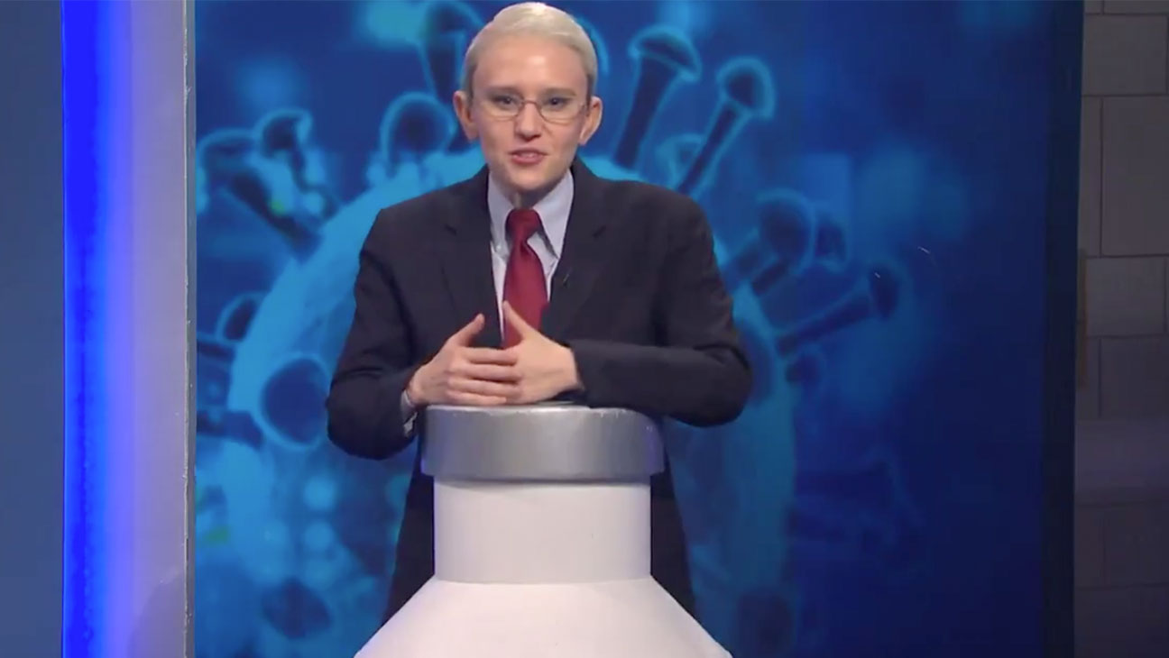 "'SNL' Cold Open: Kate McKinnon's Fauci Hosts Game Show, ""So You Think You Can Get a Vaccine"""