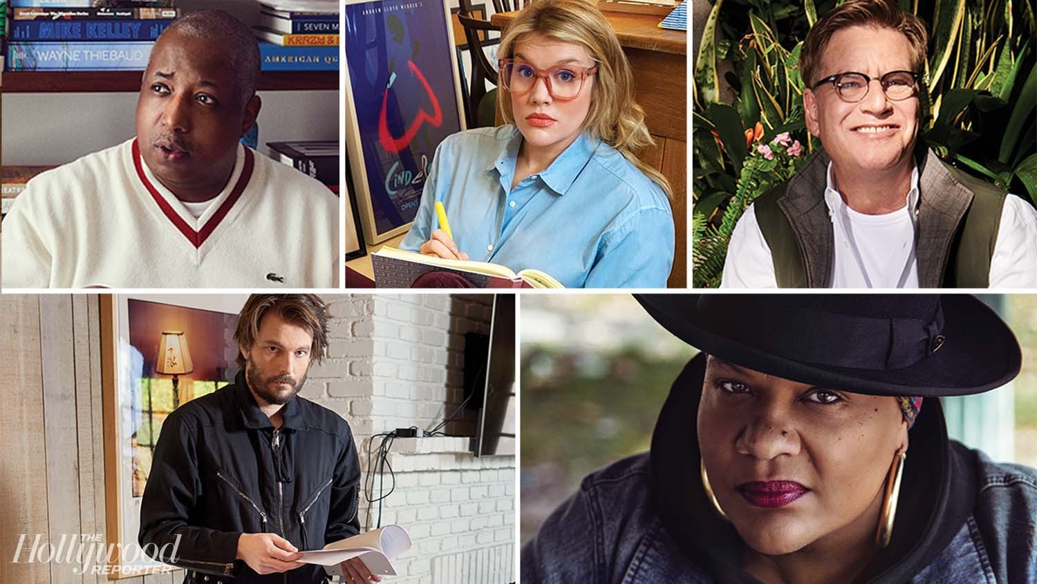 Writer Roundtable: Aaron Sorkin, Emerald Fennell, Kemp Powers, Radha Blank and Sam Levinson on the Journey to Get Their Stories to Screen