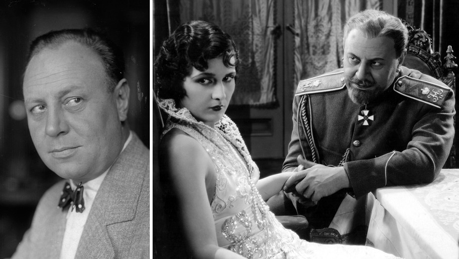 Emil Jannings, The Last Command with Evelyn Brent and Jannings