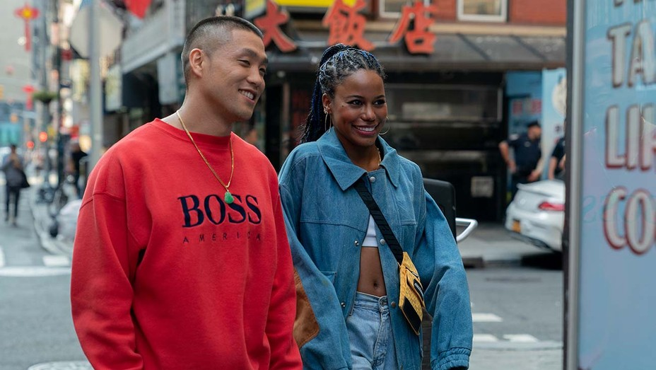 Taylor Takahashi stars as Alfred 'Boogie' Chin and Taylour Paige as Eleanor in Eddie Huang's BOOGIE, a Focus Features release.