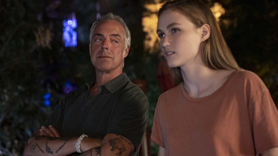 Titus Welliver and Madison Lintz in 'Bosch.'