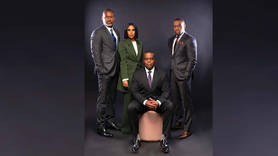 Team BNC (from left): Charles M. Blow, Yodit Tewolde, Princell Hair and Marc Lamont Hill.