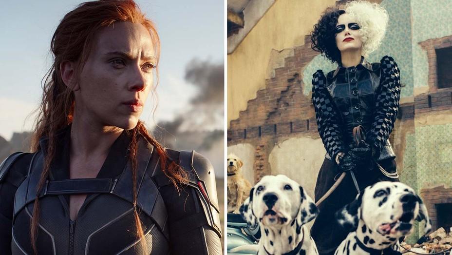 'Black Widow,' 'Cruella'