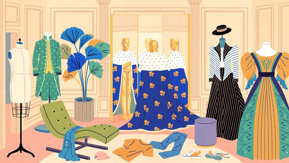 Do the Oscars Need a Contemporary Costume Design Category Illustration by Yifan Wu