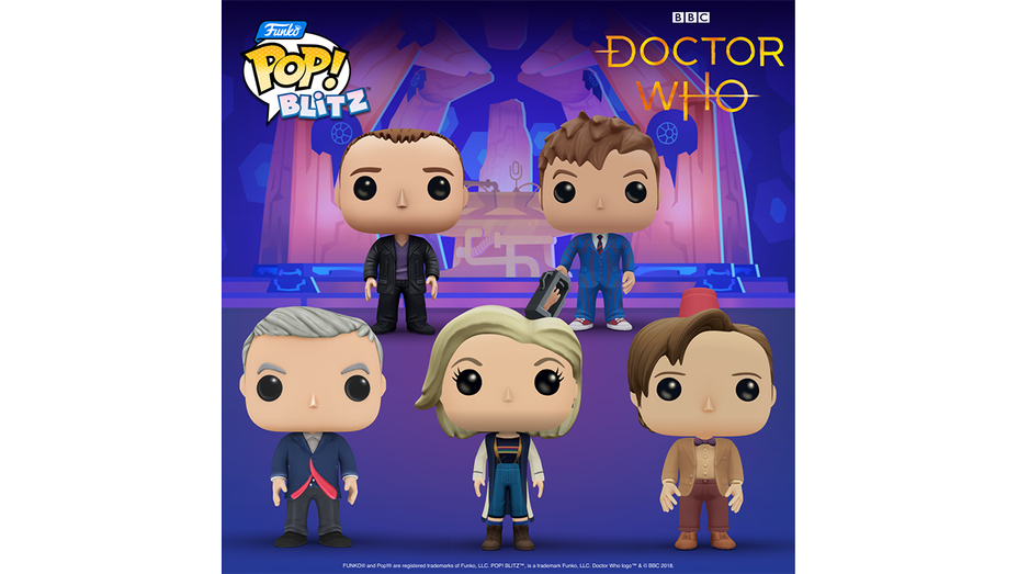 Doctor Who Funko Pop Crossover - H - 2021-1615597990