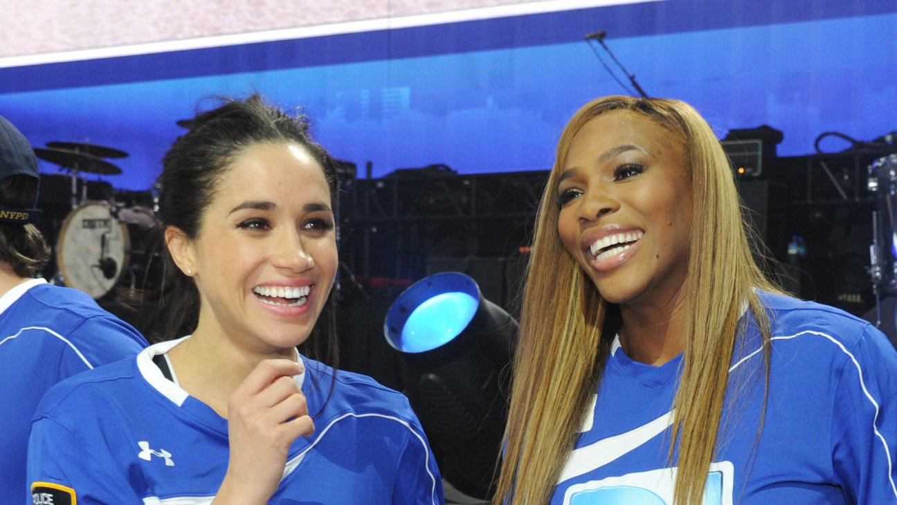 """Serena Williams Defends Meghan Markle: """"Her Words Illustrate the Pain and Cruelty She's Experienced"""""""