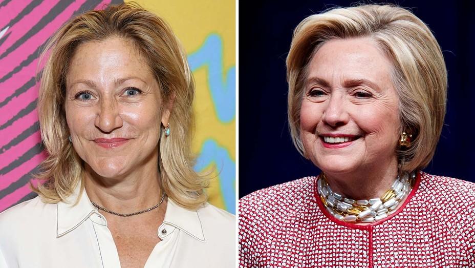 Edie Falco Hillary Clinton