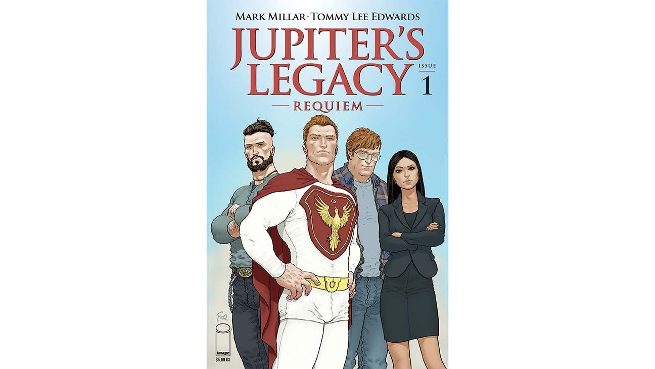 Mark Millar Unveils 'Jupiter's Legacy: Requiem' (Exclusive)