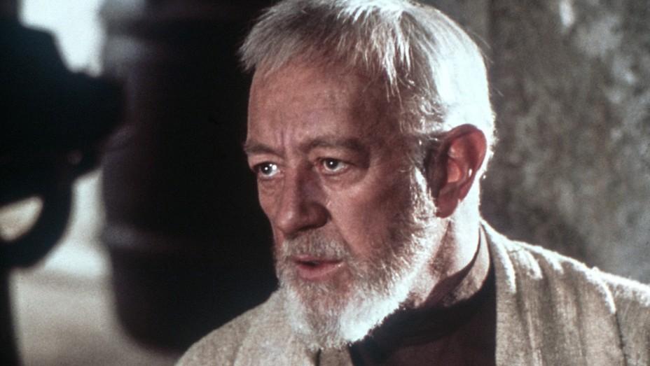 Alec Guinness as Obi-Wan Kenobi in 'Star Wars.'